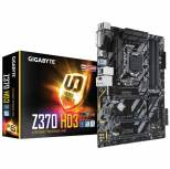 GIGABYTE Z370 HD3 LGA1151/ Intel Z370/ DDR4/ Quad CrossFireX/ SATA3&USB3.1/ M.2/ A&GbE/ ATX Motherboard