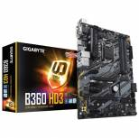 GIGABYTE B360 HD3 LGA1151/ Intel B360/ DDR4/ Quad-GPU CrossFireX/ SATA3&USB3.1/ M.2/ A&GbE/ ATX Motherboard