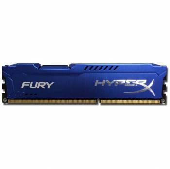 Kingston HyperX FURY Blue HX316C10F/8 DDR3-1600 8GB/1Gx64 CL10 Memory