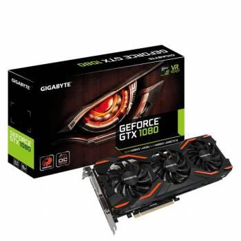 GIGABYTE NVIDIA GeForce GTX 1080 Windforce OC 8GB GDDR5X DVI/HDMI/3DisplayPort PCI-Express Video Card