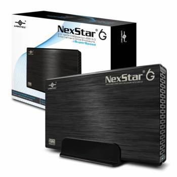 Vantec NexStar 6G NST-366S3-BK 1TB 3.5 inch SATA3 to USB 3.0 External Hard Drive (Black)