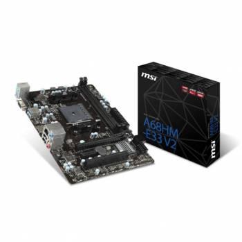 MSI A68HM-E33 V2 Socket FM2+/ AMD A68H/ DDR3/ SATA3&USB3.0/ A&GbE/ MicroATX Motherboard