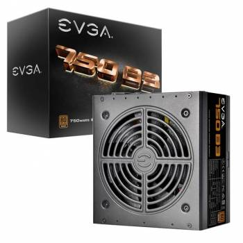 EVGA 750 B3 220-B3-0750-V1 750W 80 PLUS Bronze Power Supply w/ Fully Modular & EVGA Eco Mode