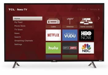 TCL 40S305 40-Inch 1080p Roku Smart LED TV (S-Series 2017 Model)