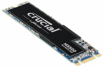 Crucial MX500 500GB M.2 2280 Solid State Drive (Micron 3D TLC NAND)