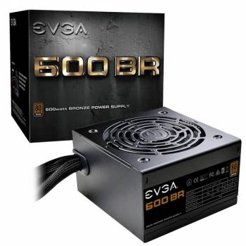EVGA 600 BR 100-BR-0600-K1 600W 80 PLUS Bronze ATX12V & EPS12V Power Supply