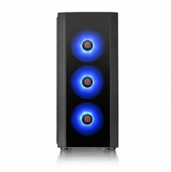 Thermaltake Versa J25 Tempered Glass RGB Edition CA-1L8-00M1WN-01 No Power Supply ATX Mid Tower (Black