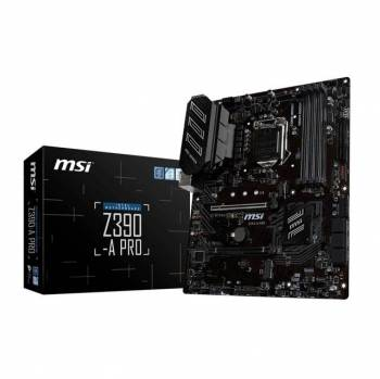 MSI Z390-A PRO LGA1151/ Intel Z390/ DDR4/ 2-Way CrossFireX/ SATA3&USB3.1/ M.2/ A&GbE/ ATX Motherboard