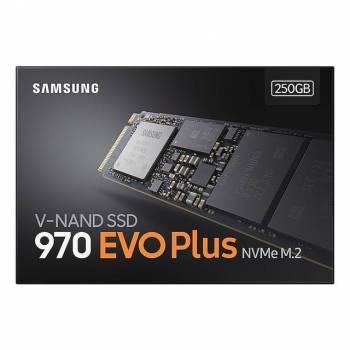 Samsung 970 EVO Plus NVMe Series 250GB M.2 PCI-Express 3.0 x4 Solid State Drive (V-NAND)