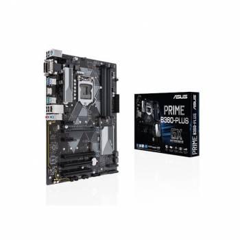 Asus PRIME B360-PLUS LGA1151/ Intel B360/ DDR4/ CrossFireX/ SATA3&USB3.1/ M.2/ A&GbE/ ATX Motherboard