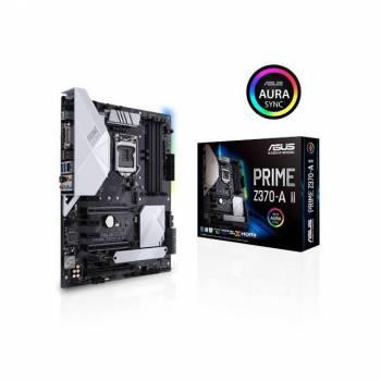 Asus PRIME Z370-A II LGA1151/ Intel Z370/ DDR4/ 3-Way CrossFireX & 2-Way SLI/ SATA3&USB3.1/ M.2/ A&GbE/ ATX Motherboard