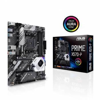 Asus PRIME X570-P Socket AM4/ AMD X570/ DDR4/ SATA3&USB3.2/ M.2/ A&V&GbE/ ATX Motherboard
