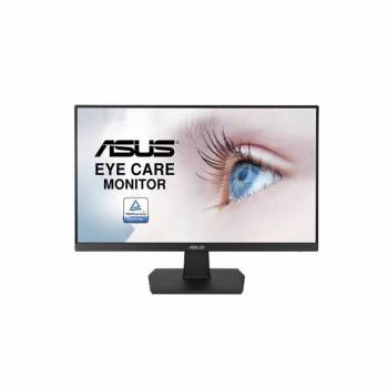 Asus VA24EHE 23.8 inch Wide Screen 100,000,000:1 D-Sub/HDMI/DVI-D LED LCD Monitor (Black)