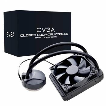 EVGA 400-HY-CL11-V1 120mm CL11 Liquid / Water CPU Cooler for LGA2066/ 2011/ 2011-v3/ 115X/ 1366