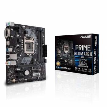 Asus PRIME H310M-A R2.0/CSM LGA1151/ Intel H310/ DDR4/ SATA3&USB3.1/ M.2/ A&GbE/ MicroATX Motherboard