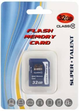 Super Talent 32GB Secure Digital High Capacity SDHC Card (Class 10), Model SDHC32-C10