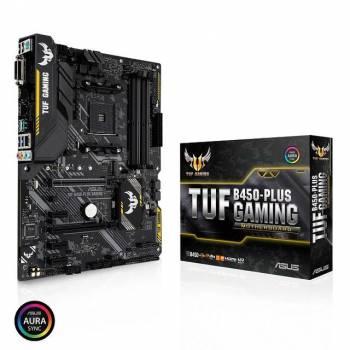 Asus TUF B450-PLUS GAMING Socket AM4/ AMD B450/ DDR4/ CrossFireX/ SATA3&USB3.1/ M.2/ A&GbE/ ATX Motherboard