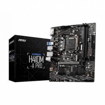 MSI H410M-A PRO LGA1200/ Intel H410/ DDR4/ SATA3&USB3.2/ M.2/ Micro-ATX Motherboard