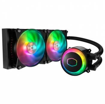 Cooler Master MasterLiquid ML240R RGB Liquid Cooler for LGA 2066/ 2011-v3/2011/1156/1155/1151/1150/1366/775 & AMD Socket AM4/AM3+/AM3/AM2+/AM2/FM2+/FM2/FM1