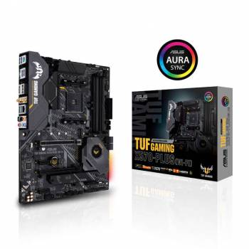 Asus TUF GAMING X570-PLUS (WI-FI) Socket AM4/ AMD X570/ DDR4/ SATA3&USB3.2/ M.2/ A&V&GbE/ WIFI&Bluetooth/ ATX Motherboard