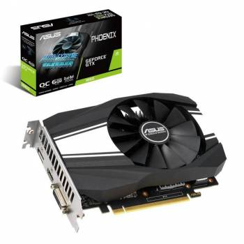 Asus NVIDIA GeForce GTX 1660 Overclocked Phoenix Fan 6GB GDDR5 DVI/HDMI/DisplayPort PCI-Express Video Card